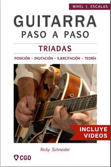 Tríadas - Pentatónica menor - clases-guitarra-onlne