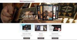 Clases de guitarra online - Aprende a tocar paso a paso