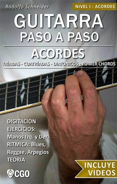 Acordes - Libro para aprender a construir acordes con la guitarra