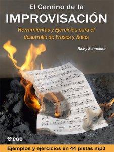 Improvisación musical - Libro con Escalas y ejercicios | Frases y solos