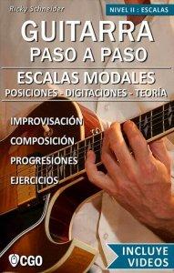 Escalas Modales musicales en la guitarra - Tocar con los 7 modos