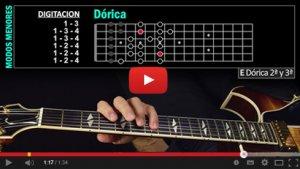 Un ejercicio incluído en el ebook Escalas Modales de la colección Guitarra Paso a Paso,