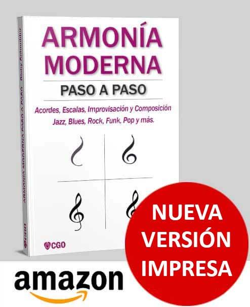 Acordes II - con tensiones 9, 11 y 13, bajo 6, 5 y 4 cuerda. Nuevo libro Guitarra