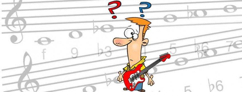 Escalas en la guitarra