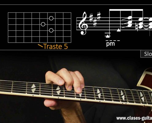Slow Blues en la guitarra