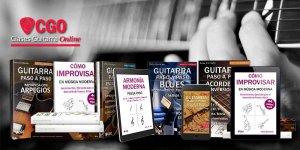Colección libros guitarra paso a paso